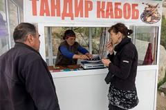 Barani tandur sprzedawany w górach