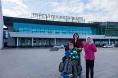 Lotnisko w Astanie czyli w Nur-Sułtanie