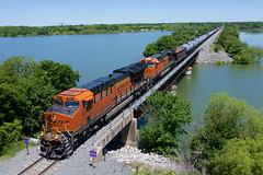 BNSF 3843 - Lake Lavon TX