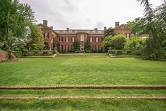 Dumbarton Oaks Mansion and North Vista