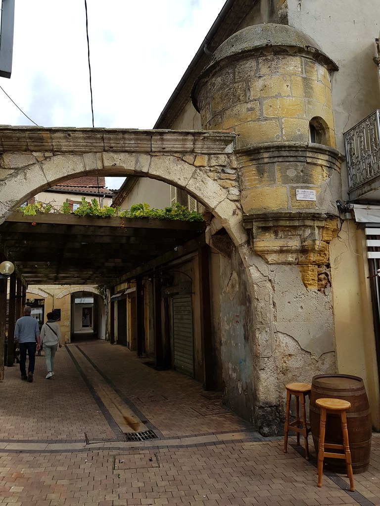 BERGERAC - Carte plan hotel ville de Bergerac 24100 - Cartes France.fr