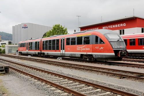 DB Regio 642 676-9, Miltenberg am Main