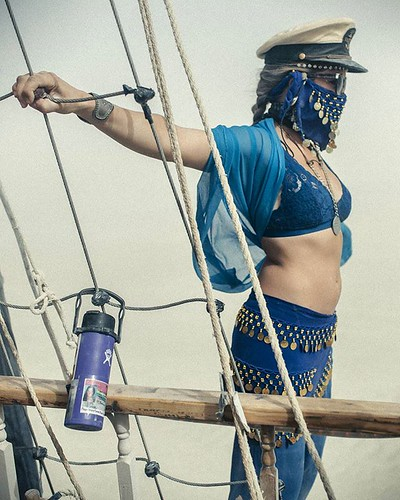 Sailing the duststorm #industwetrust #theplayaprovides