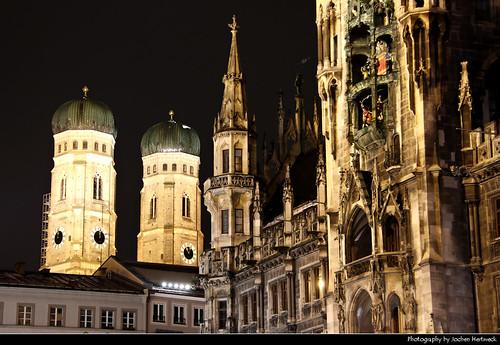 Neues Rathaus & Frauenkirche, Munich, Germany