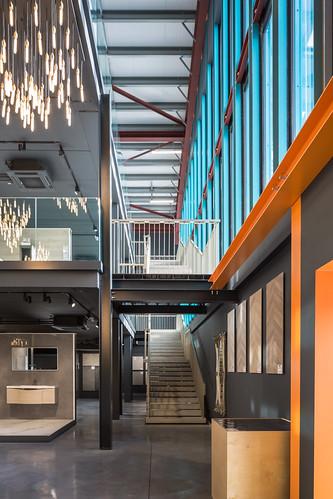 Project Tile _  de Siún Architects _ Dublin _ 2019 _ Entrance Area