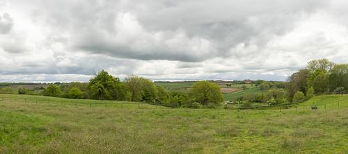 Panorama Landschap - Bergenhuizen - Zuid-Limburg - NL