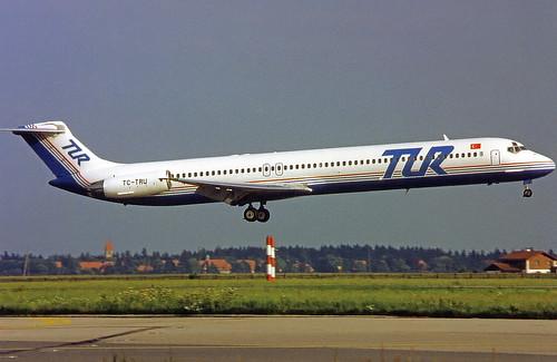 TUR MD-83 TC-TRU