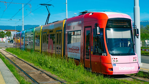 TPG Tram Bombardier Be 6/8 870