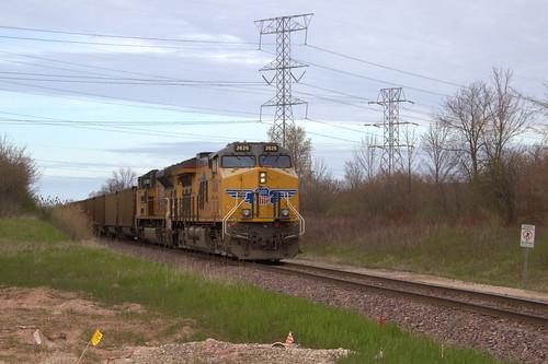 Sunday's coal train