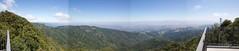 Mt Umunhum panorama 3.2. Handmade. South Santa Clara Valley, San Jose, Almaden.