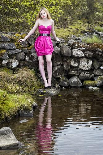 Raminta at the lake