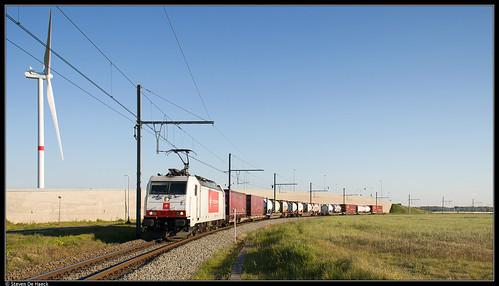 Crossrail 186 150 @ Zeebrugge