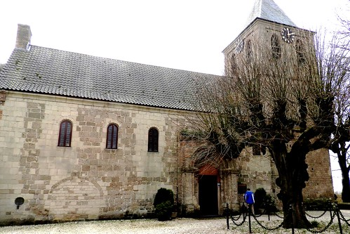 Church with Bullet Holes from WW2, Oosterbeek, Netherlands
