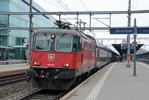 SBB 420 201, Aarau, 15-04-19