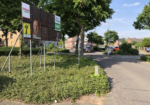 Hingen - Echterstraat corner with Op den Dijk
