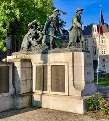 Kriegsdenkmal in Chalon-en-Champagne, Frankreich