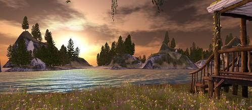 Isle Of Cezanne_sunset