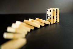 Broken domino train