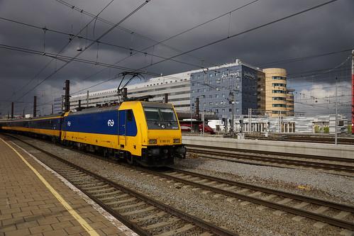 Bruxelles-Midi / Brussel-Zuid - NS Class 186 n° E 186 012 ( NL. 🇳🇱 )