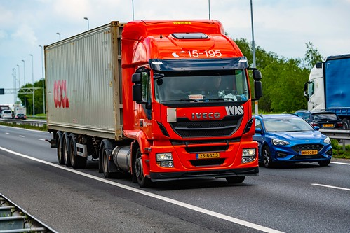 Truck Spotting on the A15 @ Giessendam-Netherlands 10/05/2019