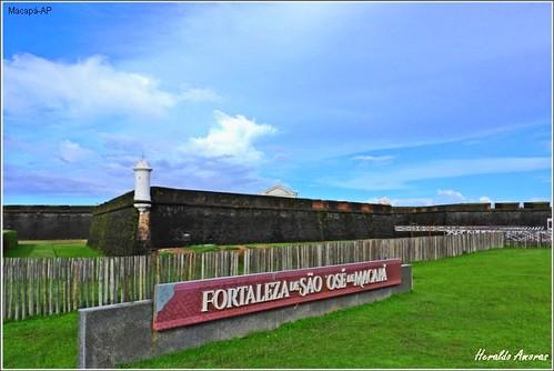 Uma das maravilhas do planeta terra, nossa Fortaleza de São José de Macapá-AP