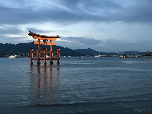 Itsukushima Floating Torii Gate - Miyajima Island (Japan)