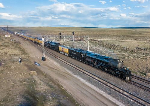 Union Pacific UP 4014 (4-8-8-4) Big Boy Sinclair, Wyoming