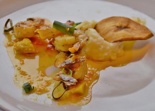 Shrimp Tangerine, Rotterdam Dining Room, ms Maasdam