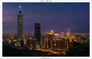 Taipei Blue Hour