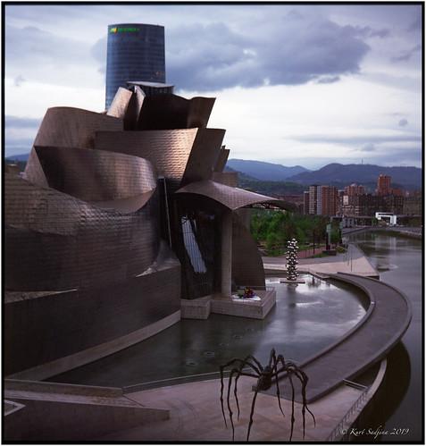 Early morning in Bilbao_Rolleiflex 3.5B