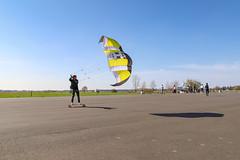 Kite Skateboarding Berlin Tempelhof