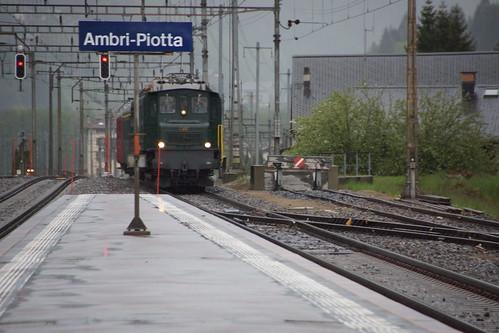 Durchfahrt in Ambri-Piotta