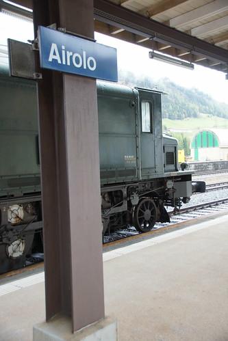 Zwischenhalt in Airolo