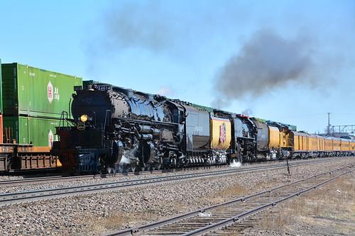 Union Pacific #4014 & 844