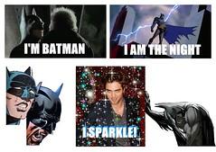 Batman sparkle Pattinson