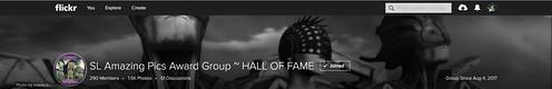 SL Amazing Pics Award Group ~ HALL OF FAME