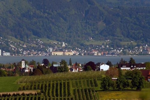 View towards Bregenz