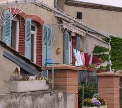 Charming terrace - Photo of Auzat-la-Combelle