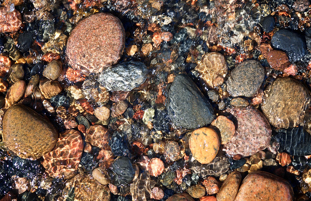 Stones At Vermillion Point
