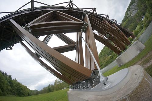 Längste Holzbrücke Deutschlands