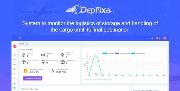 Courier Deprixa Pro v3.2.6.2 – Integrated Web System