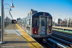 NEW YORK SUBWAYS--6650 at Allerton Avenue OB