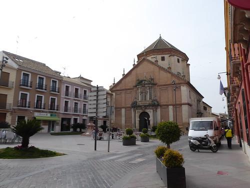 Lucena (Córdoba-España). Calle San Pedro. Iglesia de San Martín