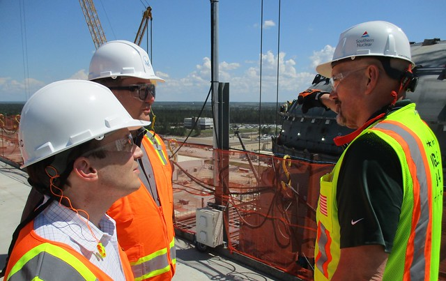 NRC Commissioner Baran visits new construction at Vogtle 3 & 4