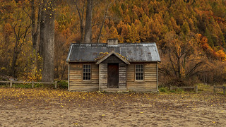 The Old Police Hut, Arrowtown, New Zealand