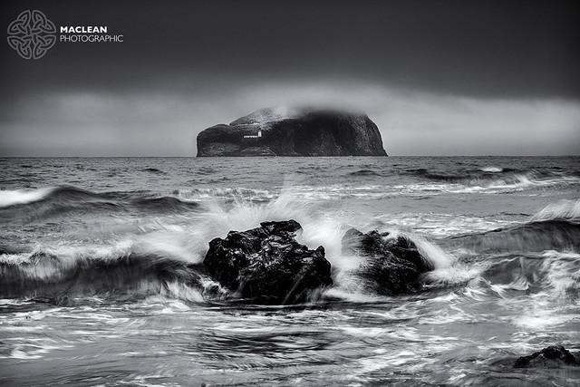 Bass Rock from Seacliff Beach