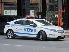 NYPD Chevy Volt