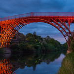 Ironbridge blue hour