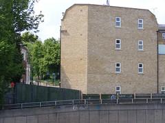 New flats, Cadogan Terrace E9