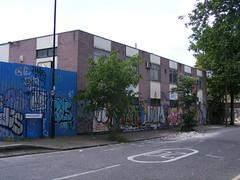 Derelict buildings, Trego Road, E9
